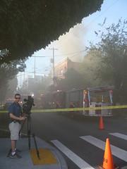 NW Portland Fire, NW 21st & Glisan