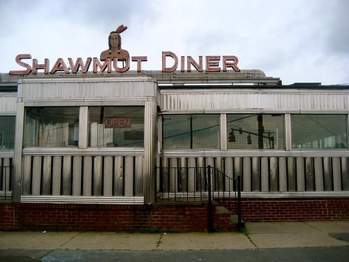 Shawmut Diner Exterior
