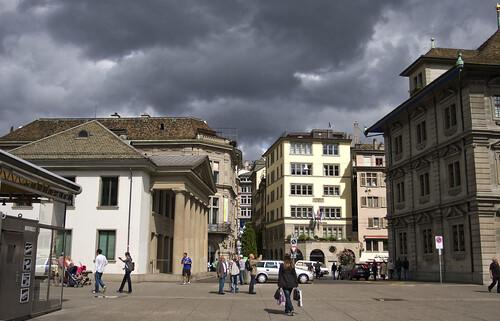 square in Zurich