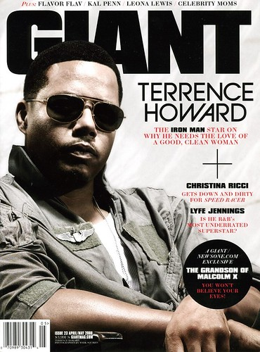 Terrence Howard - Giant Magazine
