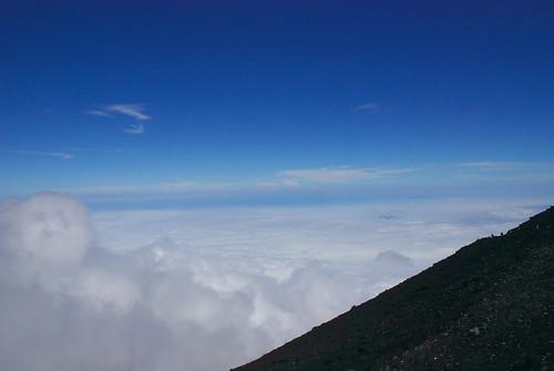 富士山頂からの眺め 5