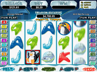 Penguin Power slot game online review