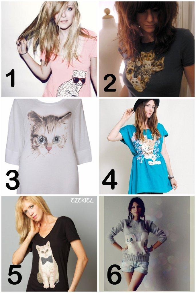 trend alert: cat shirts