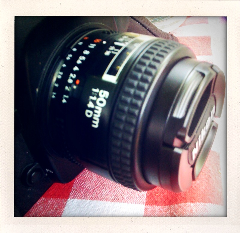 My shiny new Nikon 55mm f/1.4 lens