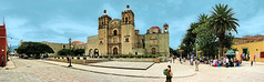 Templo de Santo Domingo de Guzman () Tags: world heritage church architecture america mexico mesoamerica site catholic dominican roman pano united nick iglesia panoramic unesco latin oaxaca mx domingo santo templo nations panaramic guzman hacienda pana juarez architectura oa saum oaxacadejuarez rafa2008oax