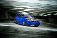 Cory's Subaru STi (Petey Photography | fortysixtyphoto.com) Tags: 50mm automotive subaru wrx sti epic alienbees automotivephotography strobist rigshotspa