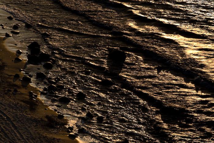 Пляж  в Приморье