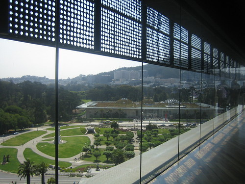 View from de Young tower