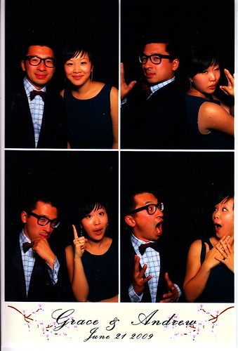 Photobooth at Andrew's wedding