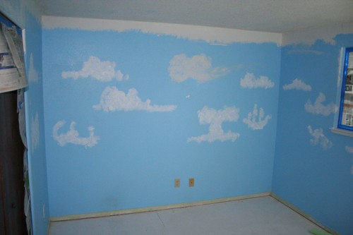 Third Room - Before Painting