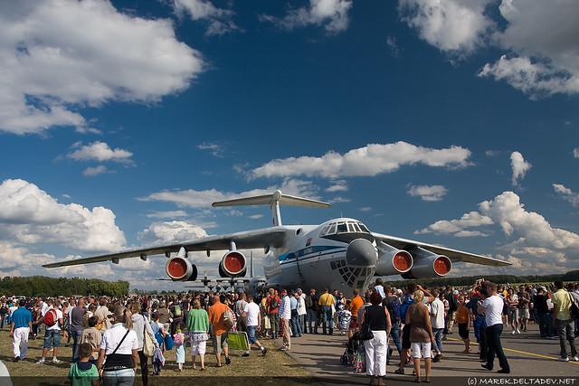 Ił-76 robił przepotężne wrażenie