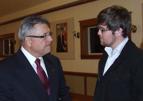 Ralph Goodale and Daveberta