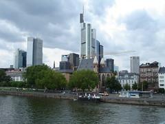 Frankfurter City (wyssdaniel79) Tags: skyline deutschland frankfurt main sommerferien ferien frankfurtammain hochhaus hochhuser