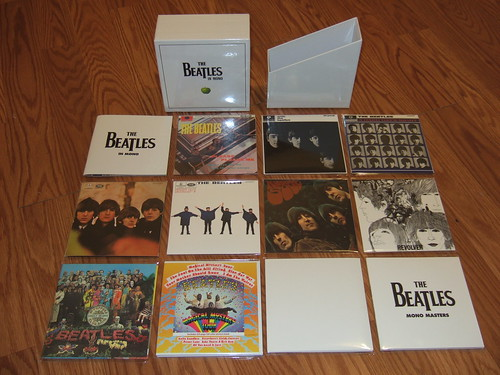 Unboxing my Beatles boxed sets, Jersey City, NJ, 9/17/09 - 14 of 16 (by goodrob13)