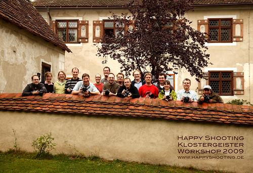 Happy Shooting Klostergeister-Workshop 2009 Gruppenbild