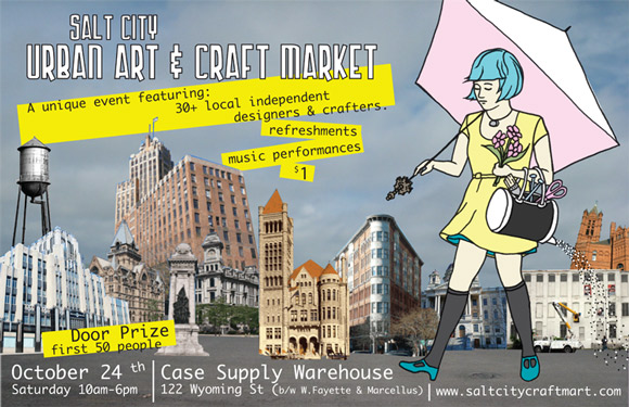 Salt City Urban Art & Craft Market - Syracuse, NY