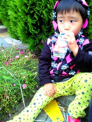 CYBERPUNKS (DTRSY) Tags: color yellow japanese skull star kid child pants drink juice parkar