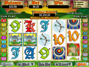 Prince of Sherwood slot game online review