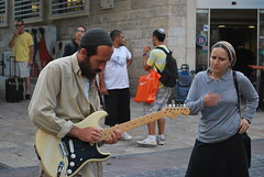 Something new (Ori knight) Tags: street music woman streetart guitar jewish gutarist