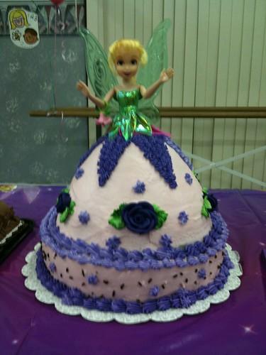 Tinker Bell Doll Cake
