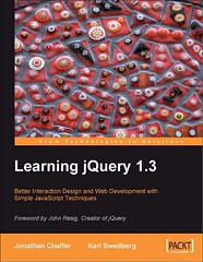 Cover of Learning jQuery 1.3