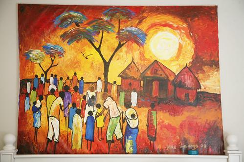 medical clinic in Uganda
