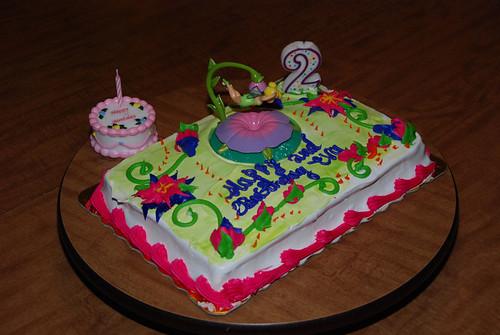 Eva's Tinkerbell 2nd Birthday Cake