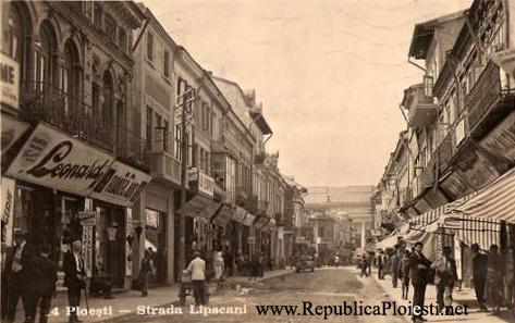 Strada Lipscani - 1940