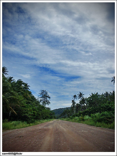 KK - Kudat Trip 2009 - Gravel Road to Tip of Borneo