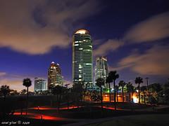 South beach, Miami (iCamPix.Net) Tags: sunset canon landscape ship florida miami southbeach professionalphotographer miamidade downtownmiami southpointe portofmiami 8891 markiii1ds miamireflection