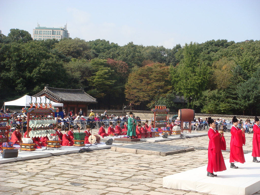 Jongmyojeryeack(Royal Shrine Music)