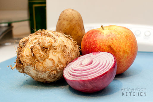 Celeriac Apple Soup Ingredients
