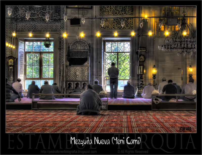 Mezquita nueva - Momentos de oración