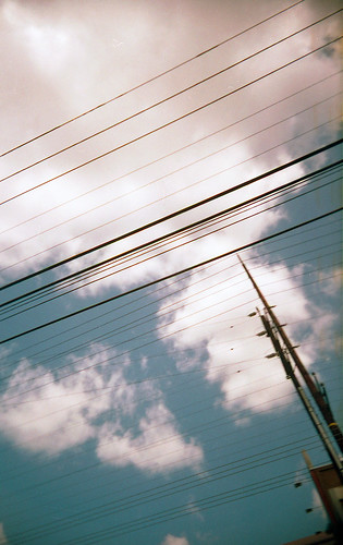 power line clouds