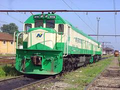 FPM265 Locomotiva Ferronorte 9116 (Fernando Picarelli Martins) Tags: locomotive locomotiva efvm ferrovias ferronorte estradadeferrovitóriaminas locomotivadieselelétrica classecc ferronorte9116 modelou26c
