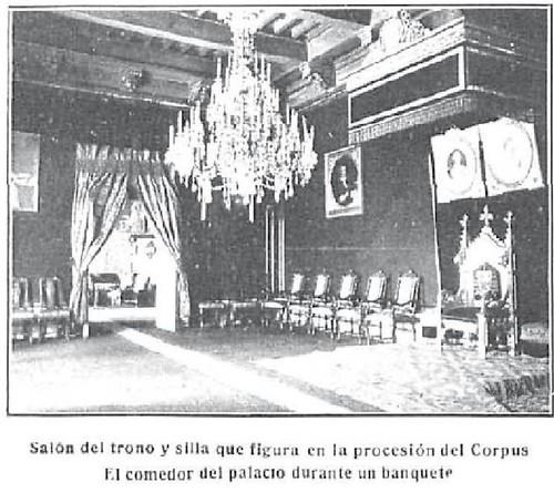 Interior del Palacio Arzobispal de Toledo en 1909