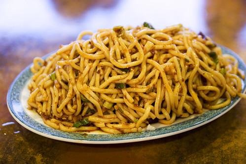 spicy noodles