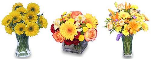flor na decoração