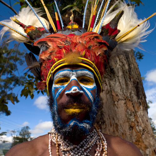 Mount Hagen singsing - Papua New Guinea
