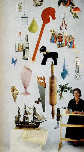 Vera Neumann and objects that inspired her (1958)