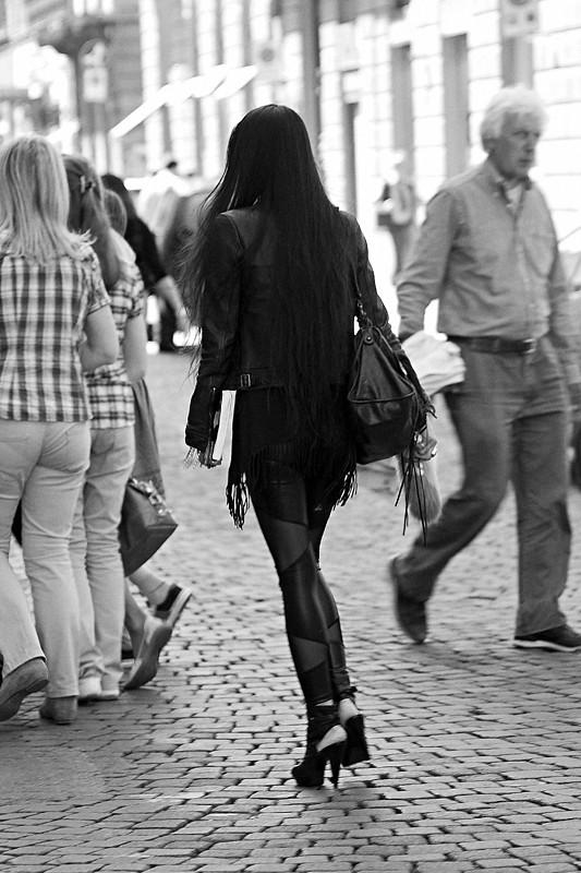 Fashion street.