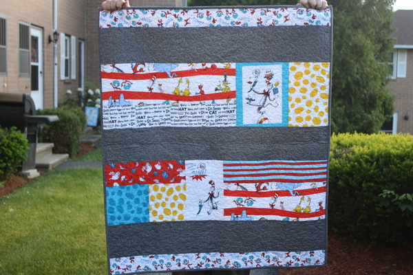 Dr. Suess quilt
