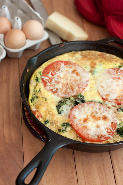 Cheesy Potato and Vegetable Frittata