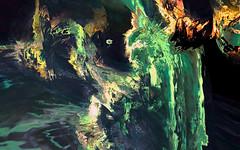 Island of Stability (jim decocq) Tags: entropy chaos muse fantasy generative computerart batgirl disorder lsystem multiverse shader vvvv selfsimilarity selfdisplacement raphaelbousso islandofstability