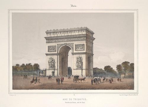 001- Paris-Arco del Triunfo 1858
