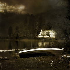 White House (Doug_Cook) Tags: white water mono boat scenic aberfoyle dougcook lochard
