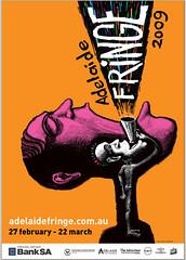 Adelaide Fringe Festival poster