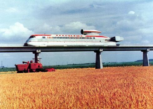 Trem a Jato Francês I-80