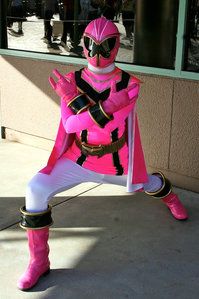 Pink Mystic Force Power Ranger at Disney Character Central Power Rangers Mystic Force Pink Ranger