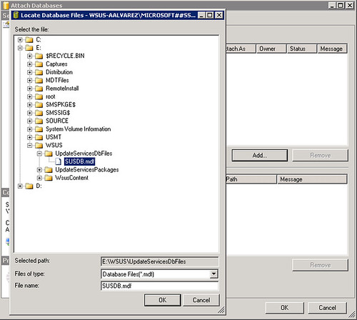 How to Move WSUS Content and Database Files to a Different